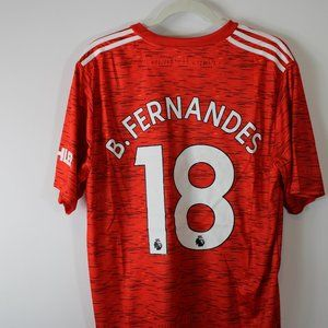 Manchester United Home Kit (Bruno Fernandes)